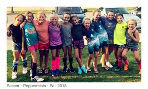 2018-08-23_Peppermints - after first practice at Palios Pizza